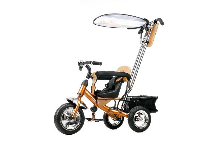 Велосипед трехколесный Liko Baby Lexus LB-772Lexus LB-772Трехколесный велосипед Lexus LB-772 с управляемой родительской ручкой и удобной корзинкой для игрушек. Регулируемый тент защищает малыша от солнца и дождя.   Характеристики: Прочная облегченная рама Ручка-держатель с приводом на руль Анатомическая сидение и спинка Защитный поручень Подставка для ног Резиновые колёса Тент от дождя и солнца Корзина для игрушек  В Комплекте: Рюкзак на ручке Задняя корзина Клаксон<br>
