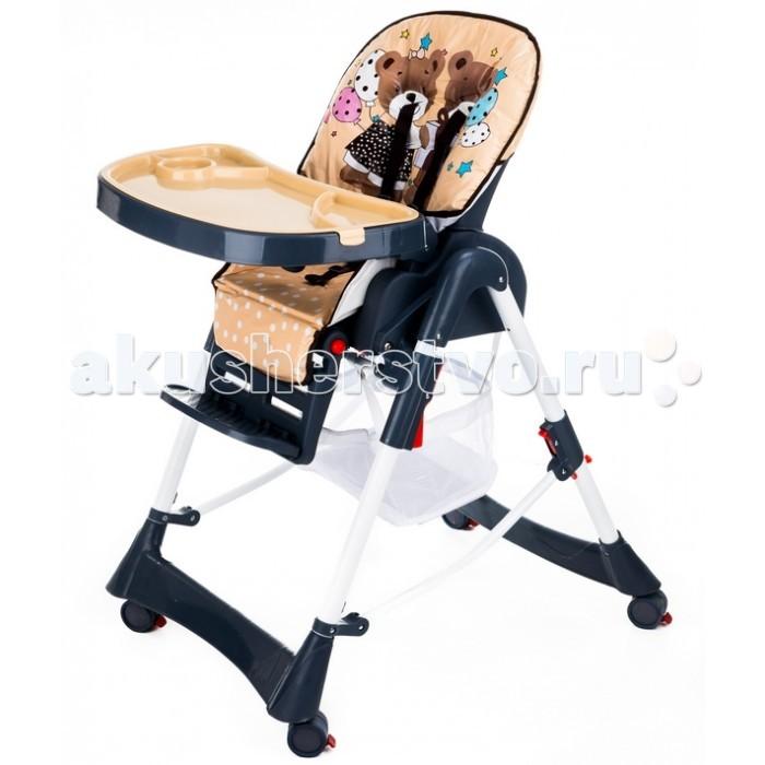 Стульчик для кормления Liko Baby НС 21НС 21Стульчик для кормления Liko Baby HC 21 - это простой и удобный стульчик для кормления.  Стульчик имеет регулируемое по высоте сидение, что позволяет вашему малышу сидеть на одном уровне с вами за столом.  Liko Baby HC 21 выполнен из легкомоющихся материалов и имеет съемный поднос.  Особенности: со съёмным подносом пластиковые сидение и спинка обтянуты плотным легко моющимся материалом в сложенном виде достаточно компактен и мобилен оснащен пятиточечными ремнями безопасности возможность блокировки колес стульчика для предотвращения его неконтролируемого движения по полу регулировка спинки: 3 положения регулировка сиденья: 5 положений, регулировка высоты сидения стульчика над уровнем пола габаритные размеры: 55х50х100см вес 10 кг корзина для игрушек и влажных салфеток опция смены высоты сидения стульчика над уровнем пола ограничитель сползания ребёнка со стула современная система складывания стульчика в одну плоскость помогает избежать трудностей при его хранении в квартире с ограниченным жилым пространством<br>