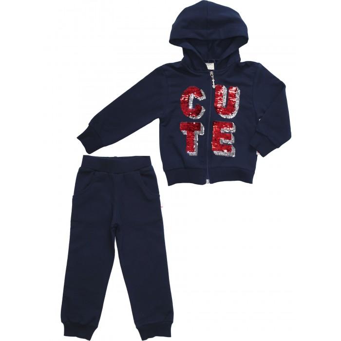 Картинка для Комплекты детской одежды Lilax Комплект для девочки (толстовка, брюки) L4707
