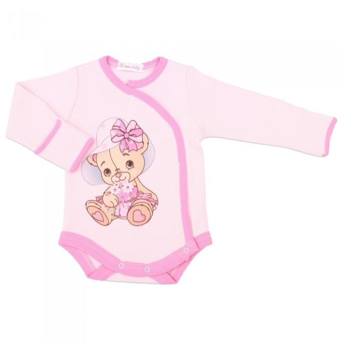 Боди и песочники Linas baby Боди для девочки 887-9 боди детское hudson baby hudson baby боди цыплёнок 3 шт бирюзово розовый