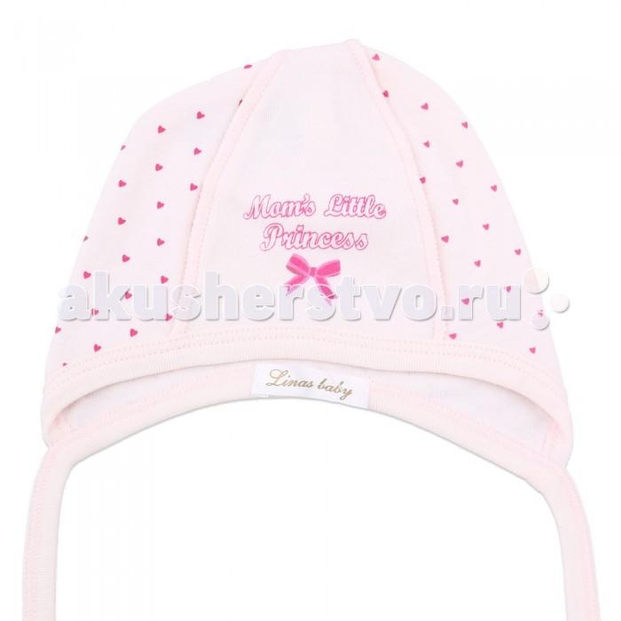 Шапочки и чепчики Linas baby Чепчик для девочки 715-2R шапочки и чепчики котмаркот чепчик little elephant 8271