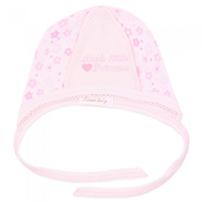 Шапочки и чепчики Linas baby Чепчик для девочки шапочки и чепчики котмаркот чепчик little elephant 8271