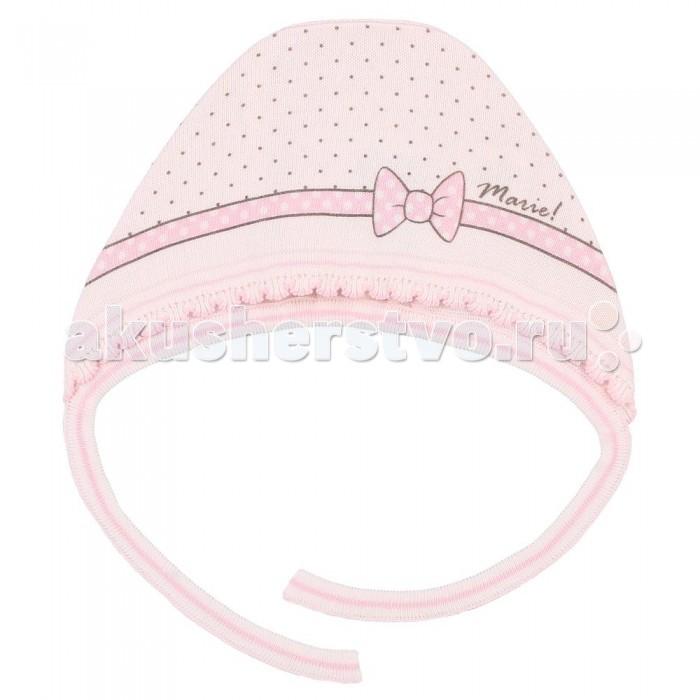 Шапочки и чепчики Linas baby Чепчик вязаный для девочки DC4053-9