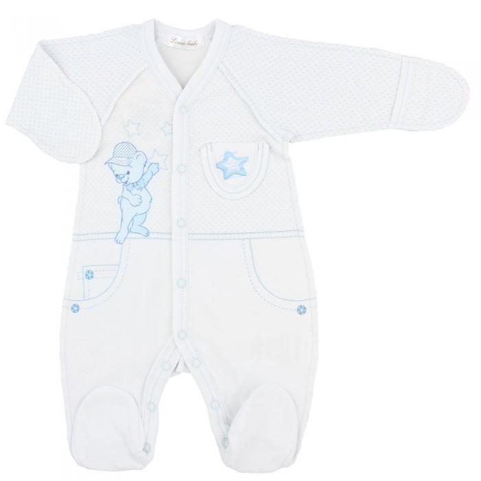 Комбинезоны и полукомбинезоны Linas baby Комбинезон для мальчика 632-1 linas baby комбинезон кеды роз р 56