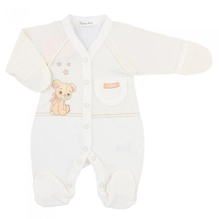 Комбинезоны и полукомбинезоны Linas baby Комбинезон Мишка 614-1