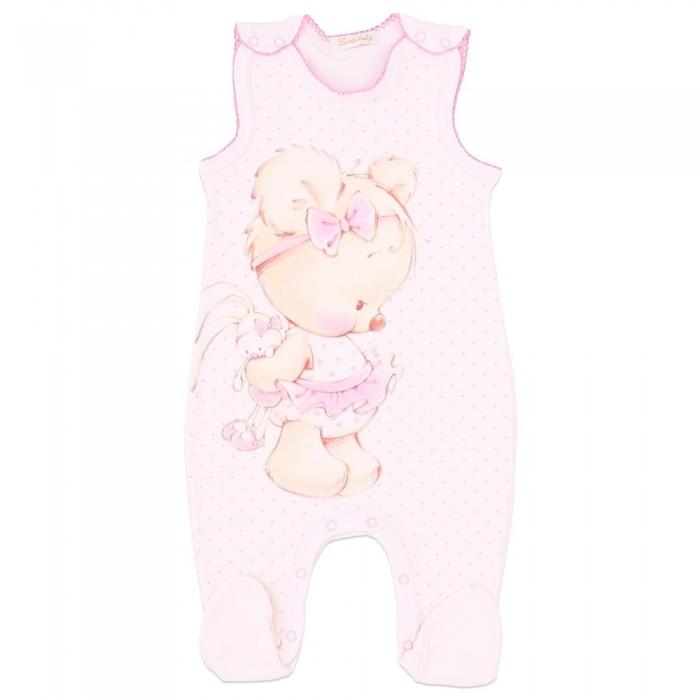 Комбинезоны и полукомбинезоны Linas baby Полукомбинезон для девочки 744-1