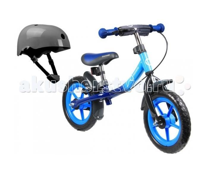 Беговел Lionelo Dan Plus со шлемом безопасностиБеговелы<br>Беговел Lionelo Dan Plus со шлемом безопасности прекрасный беговел, который разработан специально для детишек в возрасте от 2 лет.   Модель разработана с учётом безопасности ребёнка. #8203;Идеально подходит в качестве первого самостоятельного транспорта для малыша от 2 лет. Езда на двух колесах поможет вашему ребенку получить необходимые навыки баланса и развить физическую силу. Модель изготовлена из алюминия - очень легкий. Беговел имеет регулировку высоты руля и сиденья, так, чтобы адаптировать его к росту ребенка.   Беговел Lionelo Dan Plus со шлемом безопасности подходит детям: возраст - от 2 лет вес - до 27 кг для катания дома и на улице. Достоинства и особенности: легкий беговел высота руля и сидения регулируется ручной тормоз нескользящие ручки беговела PVA  - прорезиненные колёса легко амортизируют все неровности дороги прочная конструкция рамы удобное эргономичное сидение. Комплектация: беговел шлем безопасности Размер (ДхШхВ): 45 х 40 х 43 см Вес: 3.1 кг.