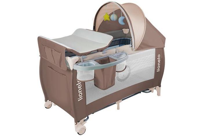 Детская мебель , Манежи Lionelo Lo-Sven Plus арт: 378164 -  Манежи