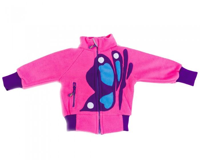 Детская одежда , Детское термобелье и флис ЛисФлис Кофта Бабочка арт: 253063 -  Детское термобелье и флис