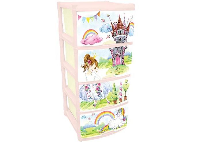 Купить Ящики для игрушек, Little Angel Комод для комнаты Сказочная Принцесса