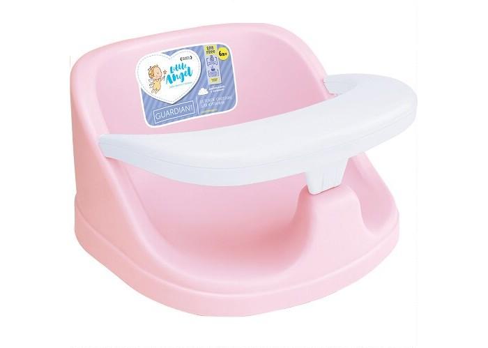 Горки и сиденья для ванн Little Angel Сиденье для купания Guardian горки и сиденья для ванн пластишка сиденье для купания детей с декором