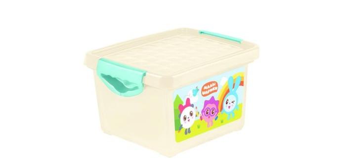 Ящики для игрушек Little Angel Ящик для хранения мелочей Малышарики 5.1 л angel 300