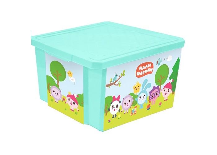 Детская мебель , Ящики для игрушек Little Angel Ящик для хранения X-Box Малышарики 57 л арт: 421854 -  Ящики для игрушек