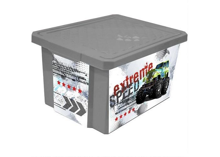Купить Ящики для игрушек, Little Angel Ящик для хранения X-Box Супер Трак 57 л
