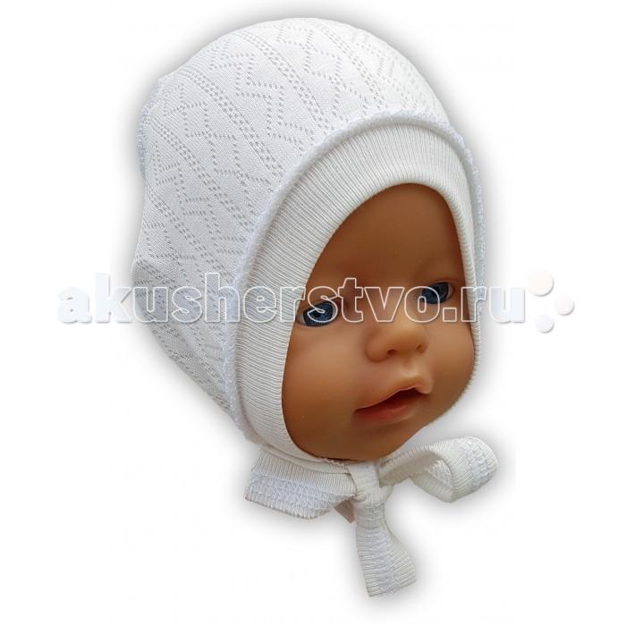 Шапочки и чепчики Little Bloom Чепчик Ажур шапочки и чепчики little bloom шапочка с мережкой
