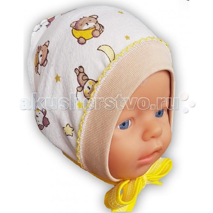 Шапочки и чепчики Little Bloom Чепчик Баю-Бай шапочки и чепчики котмаркот чепчик little elephant 8271