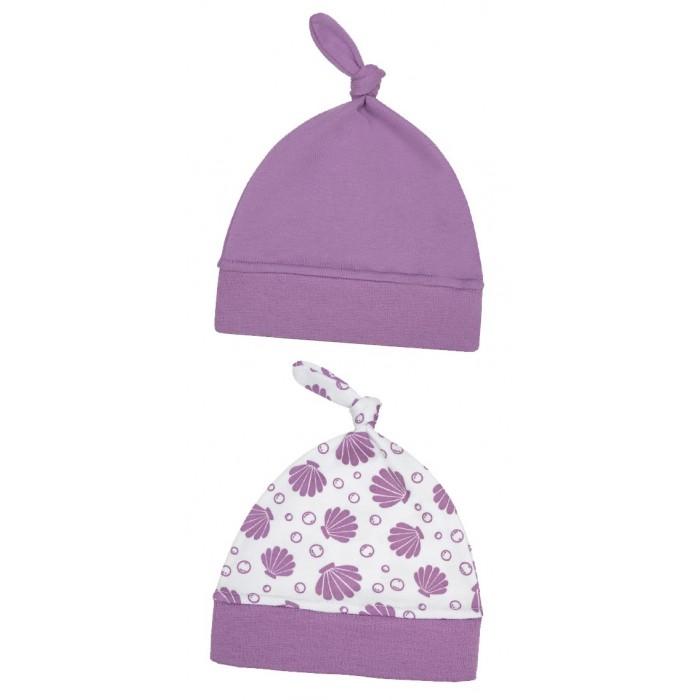 Шапки, варежки и шарфы Little Fox Комплект шапочек Ракушки 2 шт.