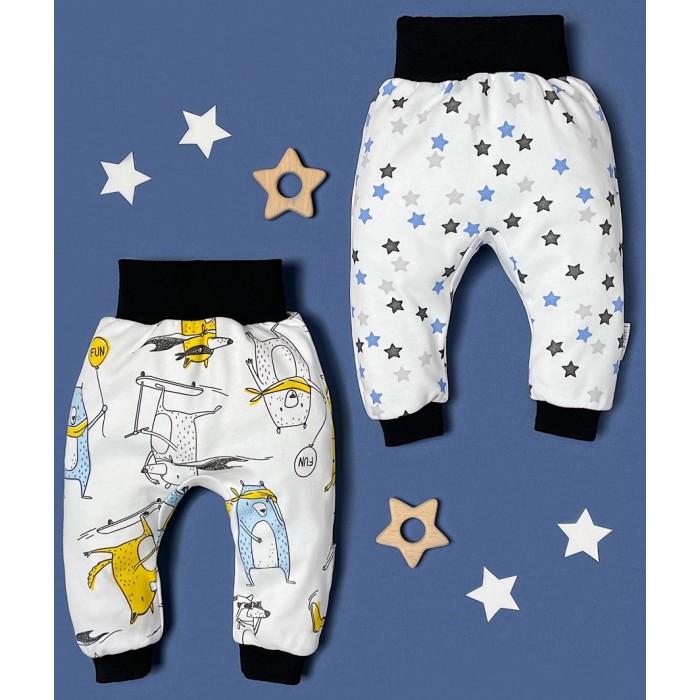 Штанишки и шорты Little Fox Limited Collection Набор штанишек Звери, Звезды 2 шт.