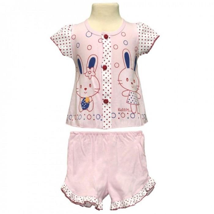 Купить Штанишки и шорты, Little Home Baby Комплект для девочки (кофта и шорты) 26-1565