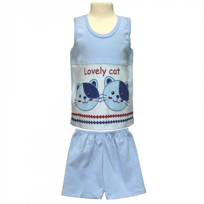 Купить Штанишки и шорты, Little Home Baby Комплект для мальчика (футболка без рукавов и шорты) 26-1555