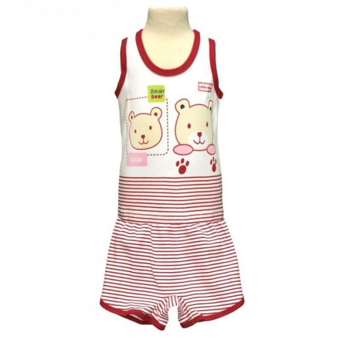 Купить Штанишки и шорты, Little Home Baby Комплект для мальчика (футболка без рукавов и шорты) 26-1556