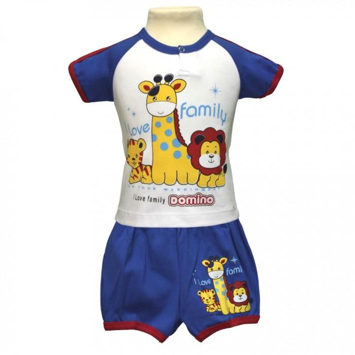 Little Home Baby Комплект для мальчика (футболка, шорты) 26-1563