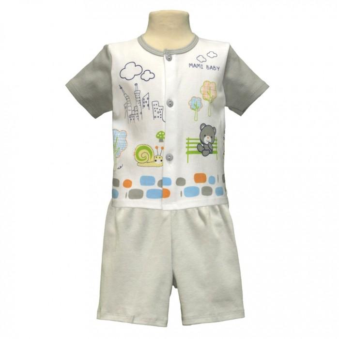 Купить Штанишки и шорты, Little Home Baby Комплект для мальчика (кофта и шорты) 26-1562