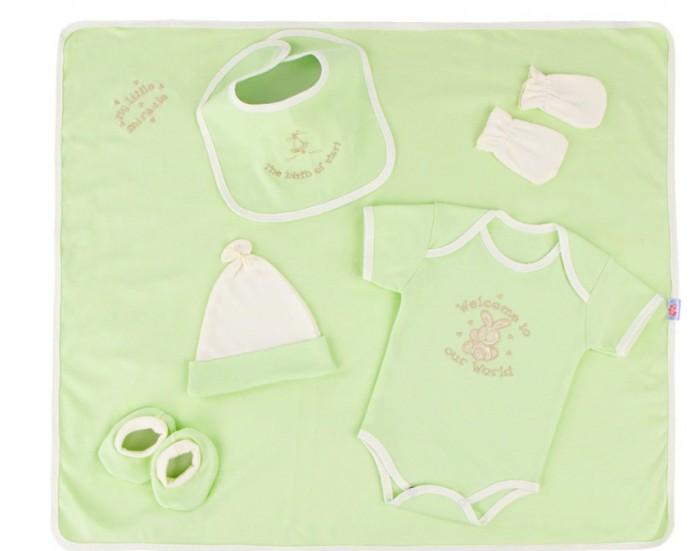 Little People Трикотажный набор с вышивкой (6 предметов) 31094