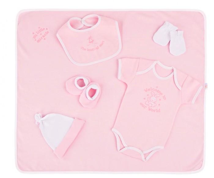 Little People Трикотажный набор с вышивкой (6 предметов) 31096