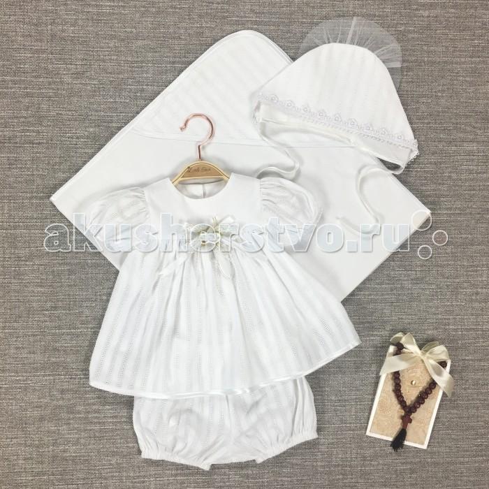 Крестильная одежда Little Star Комплект Аленка Люкс, Крестильная одежда - артикул:479521