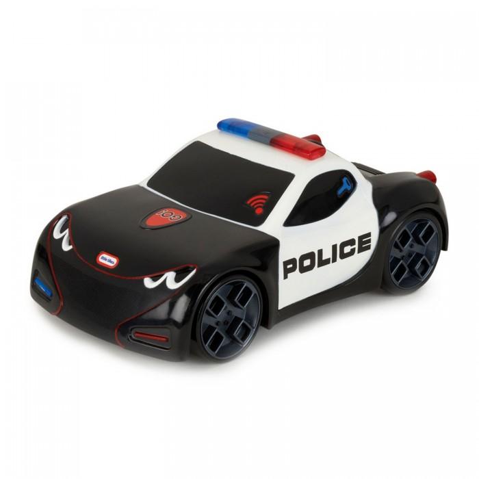 Little Tikes Полицейская спортивная машинаМашины<br>Little Tikes Полицейская спортивная машина из серии Лёгкий старт Little Tikes притягивает восторженные взгляды и вызывает приятные эмоции своим внешним видом и функционалом.  Сделайте легкое прикосновение к автомобилю – и вы сможете наблюдать, как он стремительно умчится вперед. Это действие будет сопровождаться звуком заводящегося мотора и полицейской сирены, гудком клаксона и оглушительным визгом шин.   Активные функции включаются благодаря встроенному в игрушку тактильному датчику. Отдельного внимания стоит яркий реалистичный дизайн модели, привлекающий внимание. В комплекте вы найдете три тестовые батарейки АА для машины.