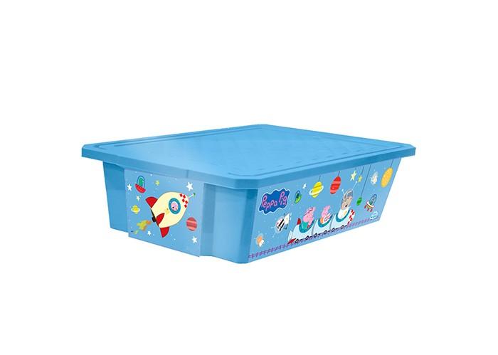 Ящики для игрушек Little Angel Ящик для хранения игрушек X-Box Свинка Пеппа 30 л ящики для игрушек little angel ящик для хранения игрушек x box свинка пеппа 57 л