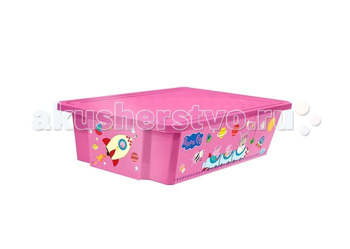 Little Angel Ящик для хранения игрушек X-Box Свинка Пеппа 30 л