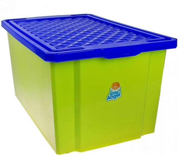 Купить Ящики для игрушек, Little Angel Ящик для хранения на колесиках Start 57 л
