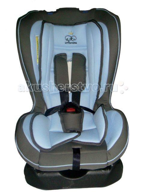 Автокресло Little King DLCS-101Группа 0-1 (от 0 до 18 кг)<br>Автокресло Little King DLCS-101  Группа 0+ (0-13кг), группа 1 (9-18 кг) универсальное От 0 до 18 кг или от рождения до 3-3.5 лет  Характеристики: сиденье оборудовано мягкой боковой защитой, устойчивой к возможным боковым воздействиям чехол автокресла легко снимается для стирки легко устанавливается и крепится с использованием горизонтальных и диагональных ремней безопасности автомобиля специальные боковые фиксаторы пятиточечного ремня безопасности помогают надежно закрепить кресло в автомобиле четыре позиций для регулировки угла наклона от положения «сидя» до положения «лежа»  Автокресло отвечает европейскому стандарту качества ЕСЕ R44/04
