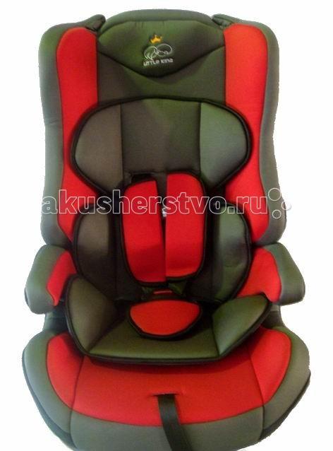 Автокресло Little King DLCS01BDLCS01BУниверсальное кресло предназначено для детей возрастной группы от 9 месяцев до 12 лет и весом от 9 до 36 кг. Группа I: 9 – 18 кг, Группа II: 15 – 25 кг, Группа III 22 – 36 кг  Характеристики: съемные пятиточечные ремни безопасности имеют мягкие накладки и регулируются по мере роста ребенка подголовник автокресла имеет боковую защиту мягкий съемный вкладыш спинку автокресла можно снять и перевозить ребенка на подушке-бустере обивку можно снимать и стирать  Автокресло отвечает европейскому стандарту качества ЕСЕ R44/04<br>