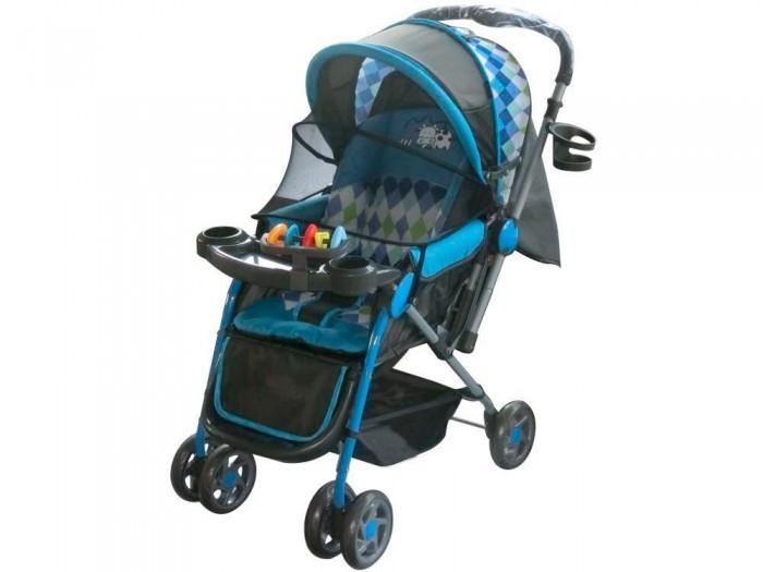Прогулочная коляска Little King LK-216LK-216Прогулочная коляска Little King LK-216. Коляска предназначена для малышей от 6 месяцев. Основными достоинствами модели являются надежность и высокое качество используемых материалов, простота и легкость конструкции, а также удобное и комфортное управление.  Легкое алюминиевое шасси способствует значительному снижению веса коляски (всего 7 кг).  Особенности: 3 положения спинки (115; 150; включая горизонтальное 170 градусов) 5-ти точечный ремень безопасности с мягкими наплечниками Жесткая спинка с плавно регулируемым наклоном Облегченная алюминиевая рама Двойные плавающие передние колеса  Диски из ударопрочного и морозостойкого пластика Колеса из вспененной искусственной резины пеноплена с добавлением каучука, по асфальту не гремят Большая корзина для вещей до 1 кг Чехол на ножки Подножка регулируется в 2-х положениях Капюшон коляски имеет специальное окно для присмотра Съемный столик - Подставка + игрушки Перекидная ручка Москитная сетка   Легко и компактно складывается (одной рукой) Для детей от 0,5 до 3-х лет (до 30 кг). Вес 8 кг<br>