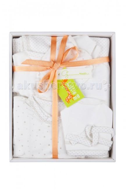 Комплект на выписку Little me для новорожденного (6 предметов)