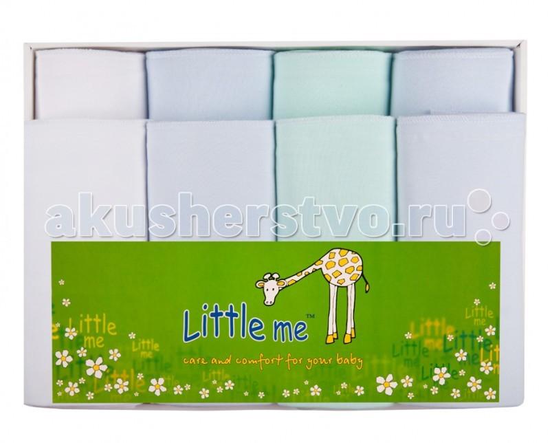 Картинка для Пеленка Little me Комплект из 4-х теплых и 4-х тонких пеленок