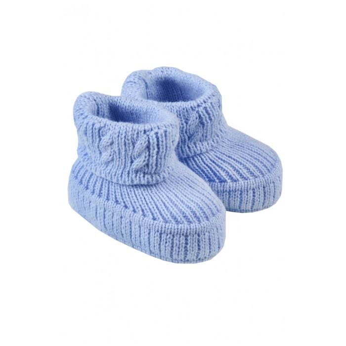 обувь и пинетки Пинетки Little me Пинетки вязаные