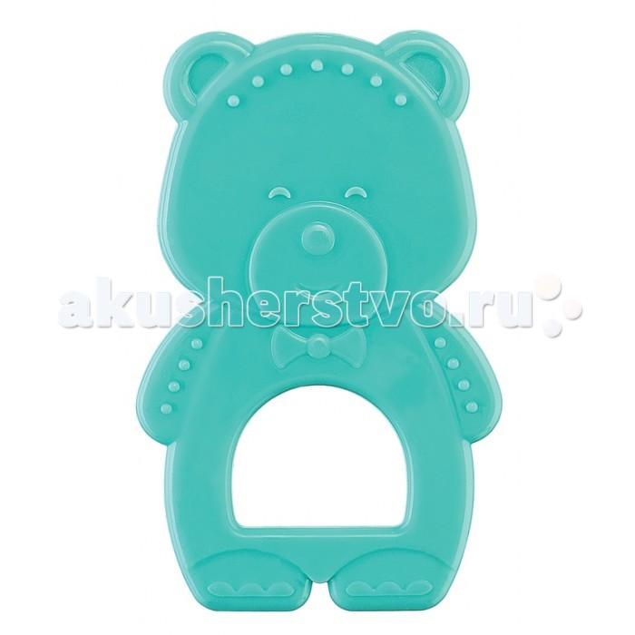 Прорезыватели Happy Baby Мишка силиконовый прорезыватель happy baby силиконовый в футляре 4 20015n blue