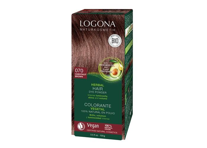 Косметика для мамы Logona Растительная краска волос 100 мл