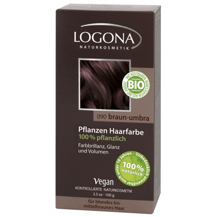 Косметика для мамы Logona Растительная краска для волос 100 мл косметика для мамы logona восстанавливающее масло для волос 75 мл