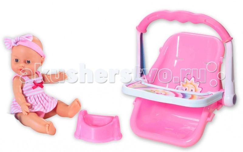Loko Toys Кукла Le Petit Bebe 32 см с автокреслом