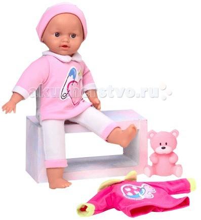 Куклы и одежда для кукол Loko Toys Кукла Tiny Baby 30 см с аксессуарами одежда