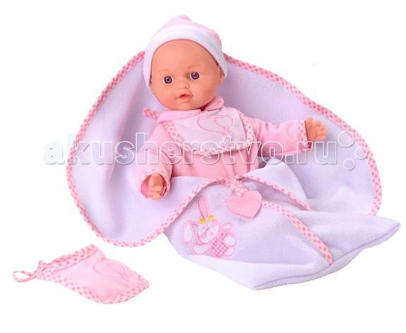 Loko Toys Кукла Tiny Baby 30 см с конвертом для новорожденных