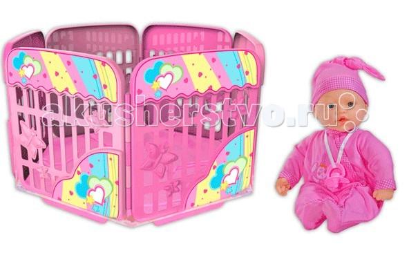 Loko Toys My Dolly Sucette Набор 37 см с игровой площадкой фото