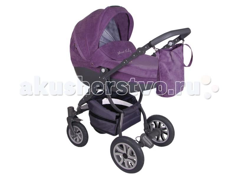 Коляска Lonex Sweet Baby Pastel 2 в 1Sweet Baby Pastel 2 в 1Коляска Lonex Sweet Baby Pastel 2 в 1 – это яркая и стильная коляска, которая отличается своей функциональностью и надежностью. На ее шасси Вы без труда установите люльку для только что родившегося ребенка, прогулочную часть – для ребенка постарше, а также автокресло (которое нужно приобрести дополнительно) – для ребенка от 1 до 10 кг. Таким образом, Ваш малыш сможет удобно разместиться в этом транспорте до достижения возраста 3-х лет, а может и старше.  Данный товар отличается от аналогов своей суперстильной и заметной расцветкой. Каждый родитель сможет выбрать цвет этой коляски из представленного ассортимента по своему вкусу.  Люлька для самых маленьких в Pastel произведена из надежного пластика. Внутренняя ее часть отделана тканью из натурального хлопка, отличающегося безопасностью и экологичностью.   Подголовник в этом модуле легко и бесшумно регулируется снаружи люльки, что обеспечит спокойный сон вашего малыша. Приятными дополнениями коляски станут надежная ручка для переноски люльки и вентиляционное окошко в капюшоне.  Особенности: Ваш малыш будет быстрее засыпать в коляске благодаря наличию мягкой амортизации на пружинах; тормозная система EASY STOP надежно зафиксирует коляску в одном положении; алюминиевая рама делает вес Pastel еще меньше; ручка в коляске регулируется по высоте, поэтому человеку с любым ростом будет удобно прогуливаться с ребенком на улице.<br>
