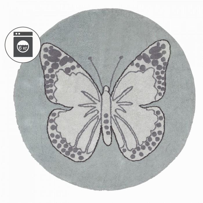 Детская мебель , Аксессуары для детской комнаты Lorena Canals Ковер бабочка винтажный 160R арт: 385794 -  Аксессуары для детской комнаты