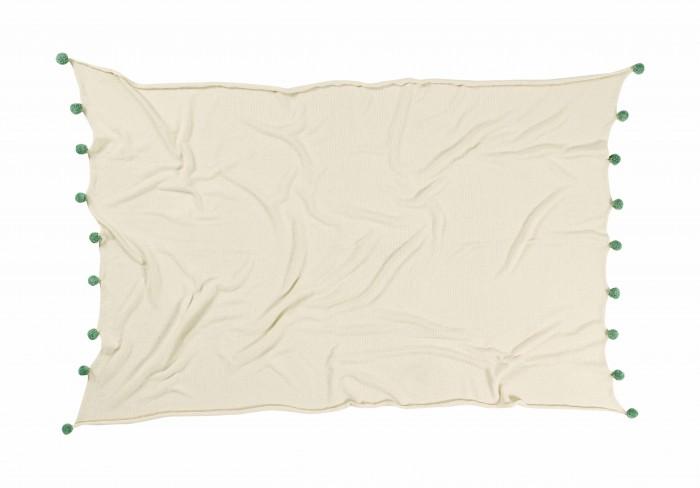 Постельные принадлежности , Пледы Lorena Canals с помпонами 120х180 см арт: 449094 -  Пледы